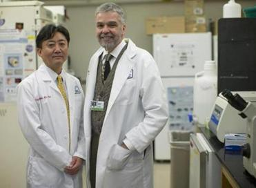 Charles Vacanti (right), with Koji Kojima, has been at the vanguard of stem cell creation.